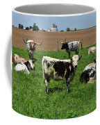 Fantastic Farm On A Spring Day With Cows Coffee Mug