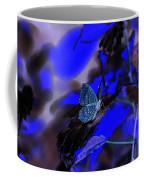 Fantasy Blue Butterfly Coffee Mug