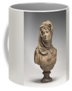Fantasy Bust Of A Veiled Woman (marguerite Bellanger?) Coffee Mug