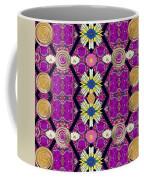 Fantasy Chevron In The Magic Forrest Coffee Mug