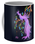 Fantasy Feather Bird Coffee Mug
