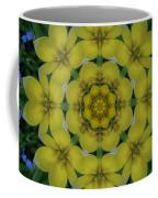 Fantasy Plumeria Decorative Real And Mandala Coffee Mug