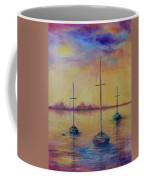 Fantasy Sailboats  Coffee Mug