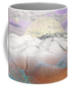 Fantasy Winter Landscape - 3d Render Coffee Mug