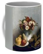 Fantin-latour: Fruits, 1865 Coffee Mug