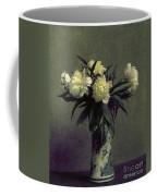 Fantin-latour: Peonies, 1872 Coffee Mug by Granger