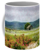 Farm - Barn - Out In The Country  Coffee Mug