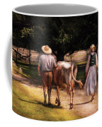 Farm - Cow - Time For Milking  Coffee Mug