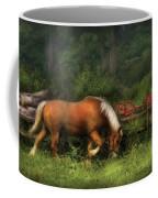 Farm - Horse - In The Meadow Coffee Mug