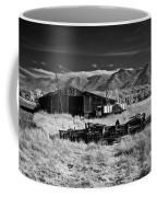 Farm Building In Infrared Coffee Mug