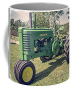 Farm Green Tractor Vintage Style Coffee Mug