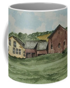 Farm In Summer Coffee Mug