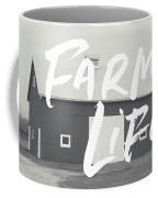 Farm Life Barn- Art By Linda Woods Coffee Mug by Linda Woods