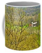 Farm Seen From Culp Hill Lookout In Gettysburg National Military Park-pennsylvania Coffee Mug