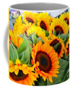 Farm Stand Sunflowers #8 Coffee Mug