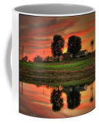 Farm Sunset Coffee Mug