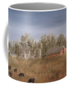 Farm With Cows  Coffee Mug