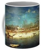 Farmhouse Across The River Coffee Mug