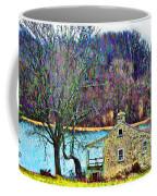 Farmhouse By The Lake Coffee Mug