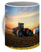 Farming April In The Field On The Case 500 Coffee Mug