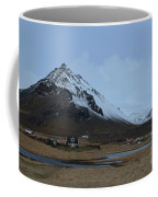 Farms At The Base Of Mt Stapafell In Iceland Coffee Mug