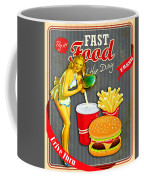 Fast Food Of The Day Coffee Mug