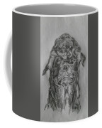 Father And Puppy  Coffee Mug