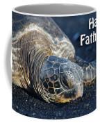 Father's Day Honu Coffee Mug by Denise Bird