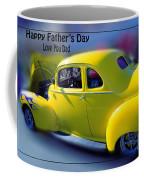 Father's Day W Frame Coffee Mug