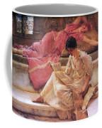 Favourite Poet Lawrence Alma-tadema Coffee Mug