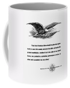 Fdr War Quote Coffee Mug by War Is Hell Store