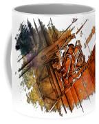 Fear Earthy Rainbow 3 Dimensional Coffee Mug