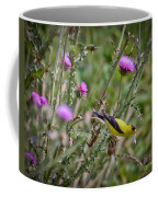 Feasting In The Flowers Coffee Mug