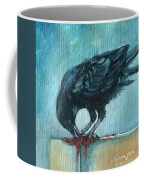 Feasting Raven Coffee Mug