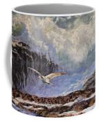 Feather And Foam Coffee Mug