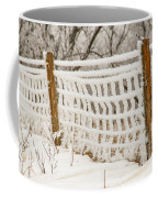 Feather Dusted Coffee Mug