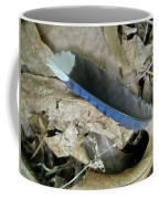 Feather On The Forest Floor Coffee Mug