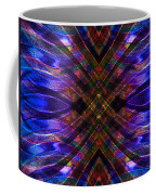 Feathered Stained Glass Coffee Mug