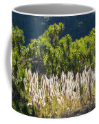 Feathery White Plants Coffee Mug