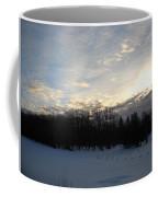 February Dawn Clouds Coffee Mug