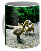 Feed Me Seymore - Baby Geese Coffee Mug