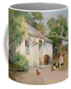 Feeding The Hens Coffee Mug