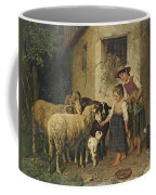 Feeding The Sheep Coffee Mug