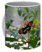Feeding Time - Butterfly Coffee Mug
