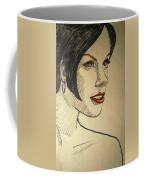 Felt Tip Female Coffee Mug