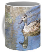 Female Blue Wing Coffee Mug