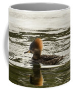 Female Hooded Merganser Coffee Mug