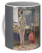 Female Nude Seen From The Back Coffee Mug