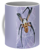Female Orb Spider Coffee Mug