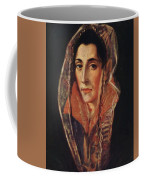 Female Portrait Coffee Mug